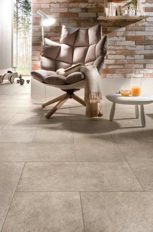 hmade effetto cemento e mattoni a parete