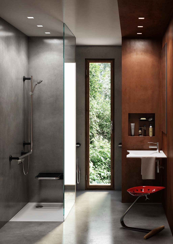 3 idee per un bagno CONTEMPORARY RADICAL