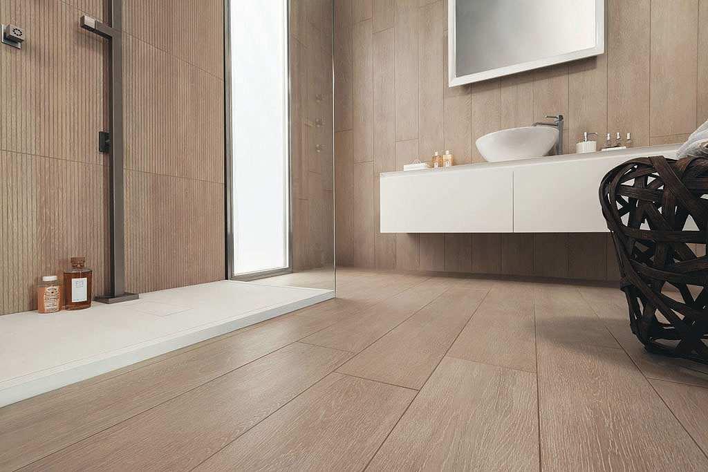 Piastrelle per il bagno effetto legno allways puro design for Piastrelle per bagno