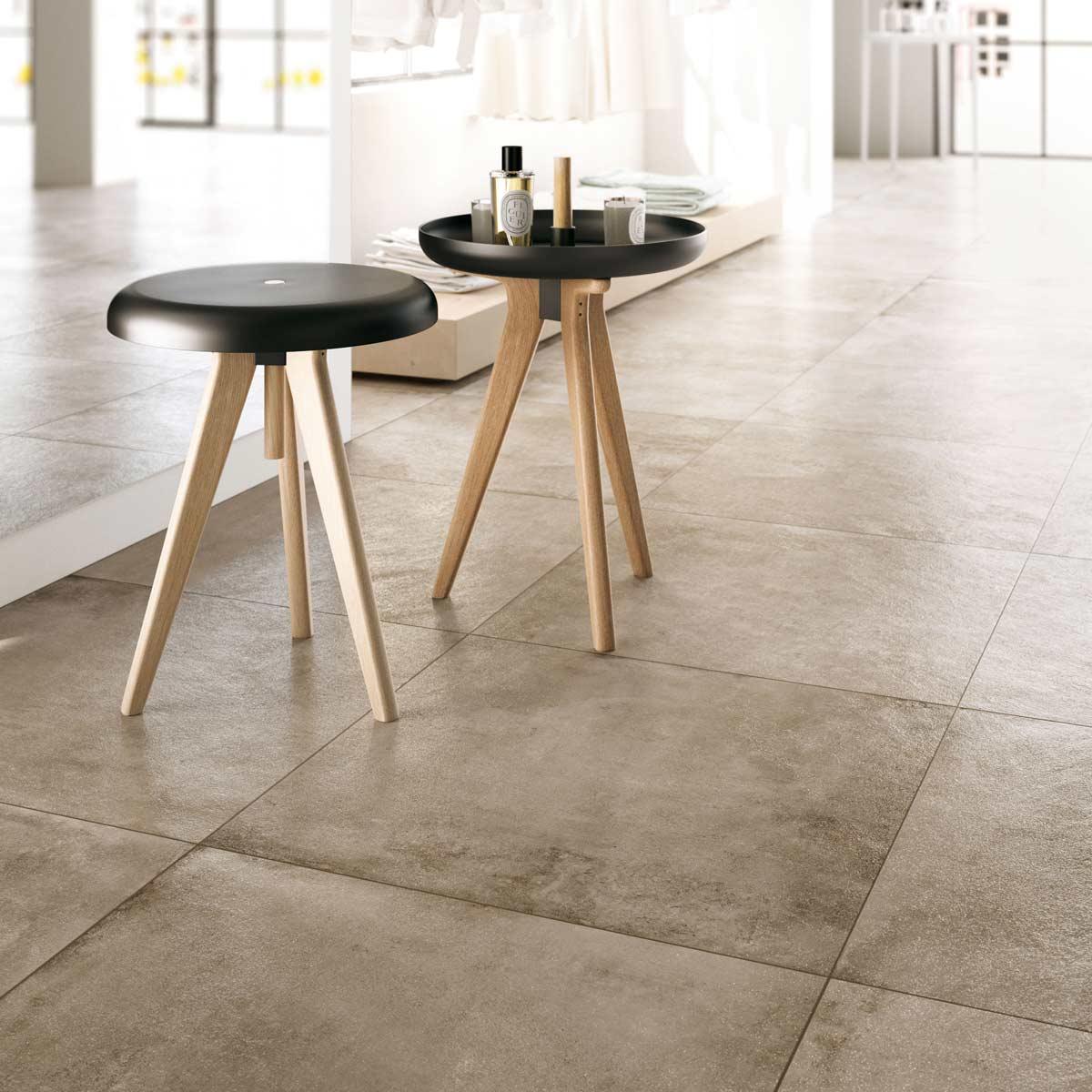 Idee Per Pavimenti Taverna pavimenti per interni effetto metallo: la collezione officine
