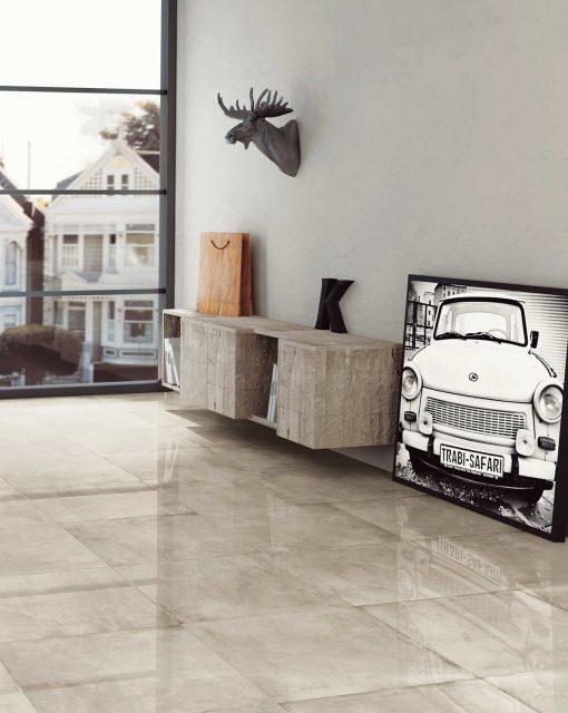pavimenti per interni effetto metallo