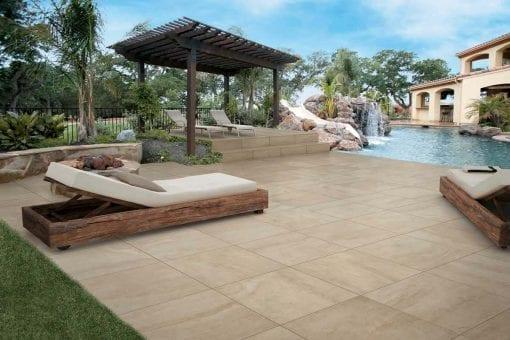 Pavimenti per esterno effetto pietra Bourgogne NE 12