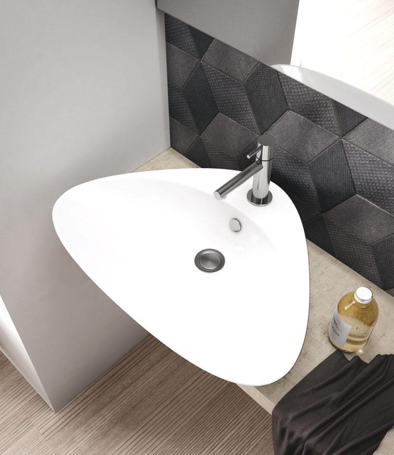 lavello con forma irregolare