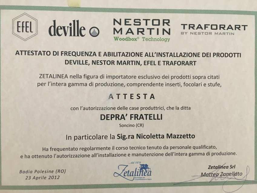 FORMAZIONE NESTOR MARTIN