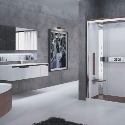 cabina doccia nexis rettangolare