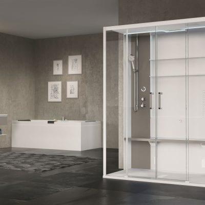 cabina doccia doppia skill dual