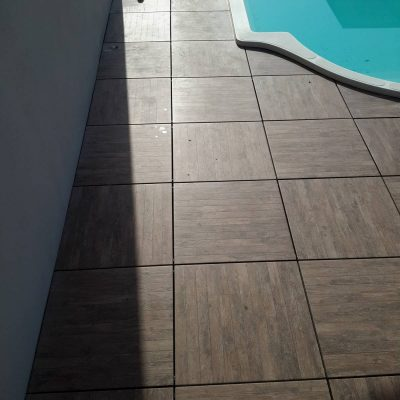 Pavimento per esterni effetto legno