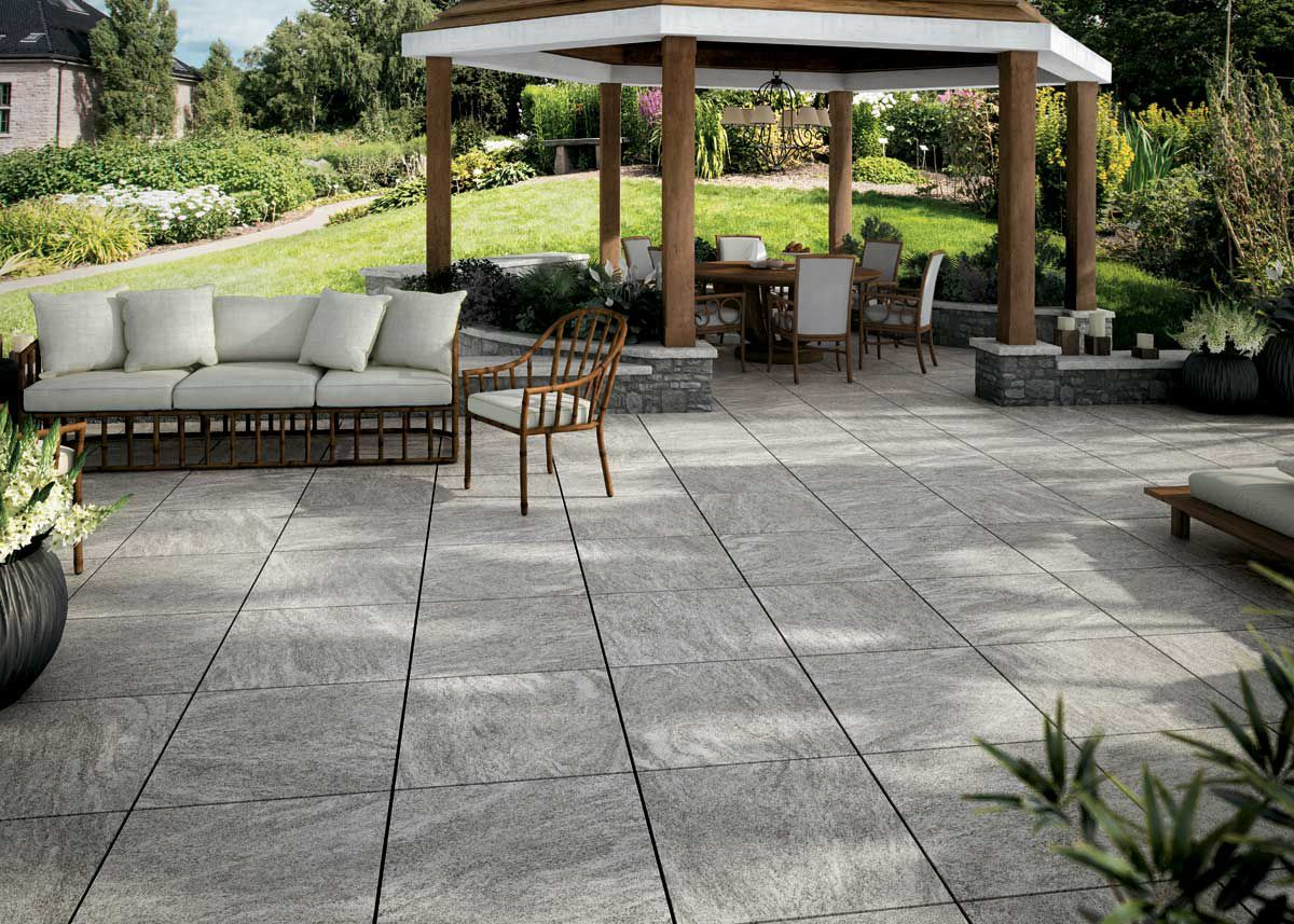 Pavimenti per esterno effetto pietra swiss grey ne u e andhome