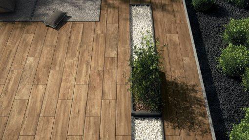 Pavimento per esterni effetto legno Indie NA 02