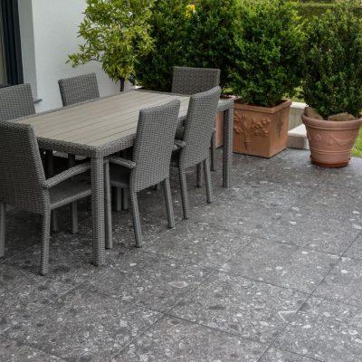Pavimento per esterni effetto pietra