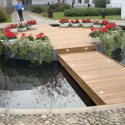 Pavimento per esterno decking Ipe Lapacho