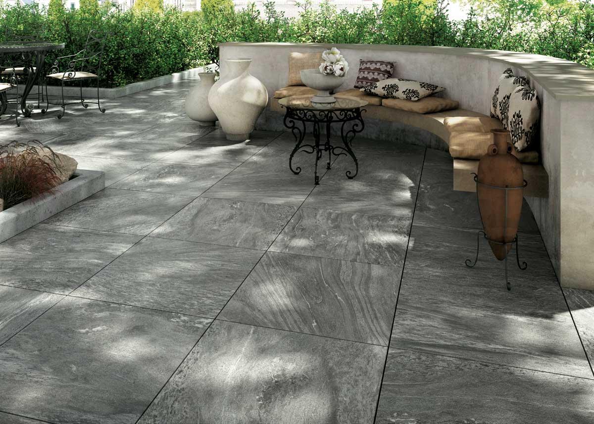 Pavimentazione Giardino In Pietra collezione na: pavimenti per esterno effetto pietra venata