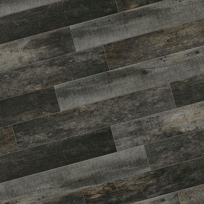 Pavimento per esterni effetto legno piallato nero Charcoal NN 05