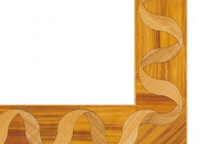 bordure parquet intarsiato