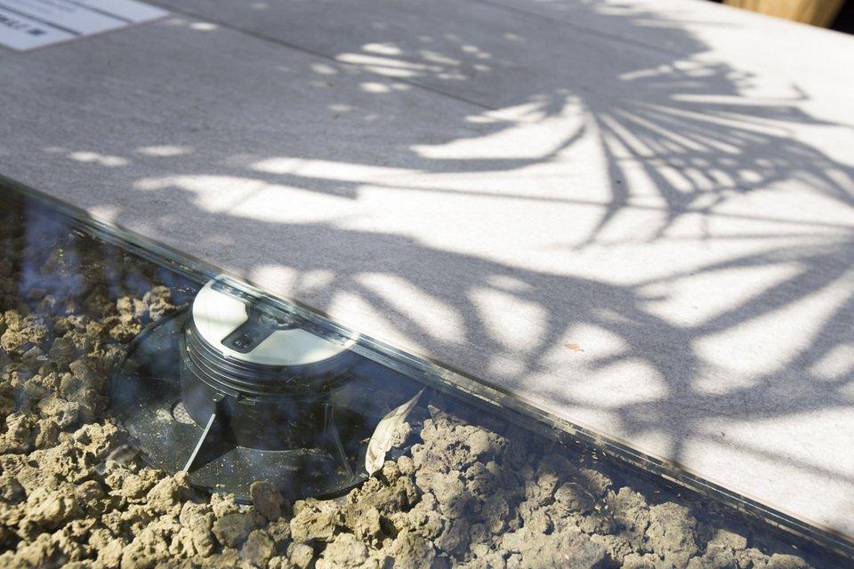 Pavimento per giardino flottante