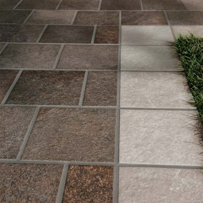 pavimenti per esterno effetto porfido vialetto dettaglio