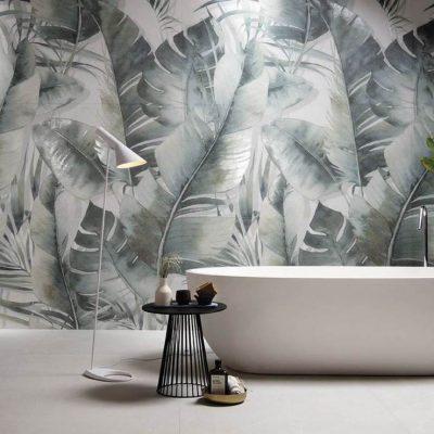 rivestimento bagno bloom decoro parete