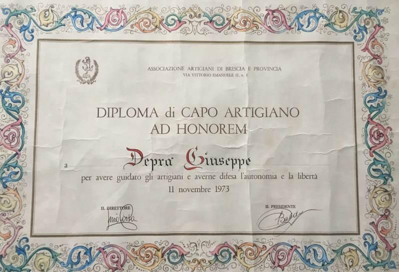 diploma artigiano