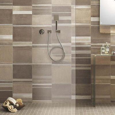 rivestimento bagno effetto resina doccia